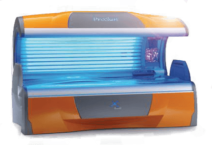 What is a facial tanning bed